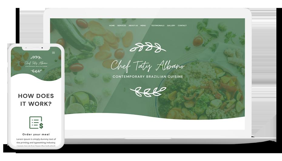 Chef Taty Albano: Contemporary Brazilian Cuisine